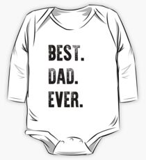 Best Dad Ever Graphic T-Shirt One Piece - Long Sleeve