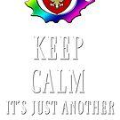 Keep Calm Maintenance Monday White by PhxDnRadio