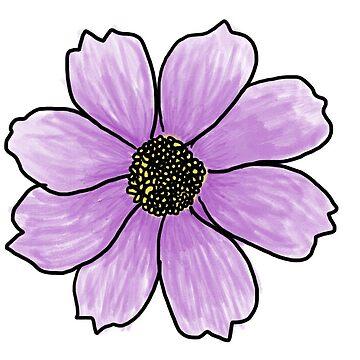 Linda flor rosa de baileymincer