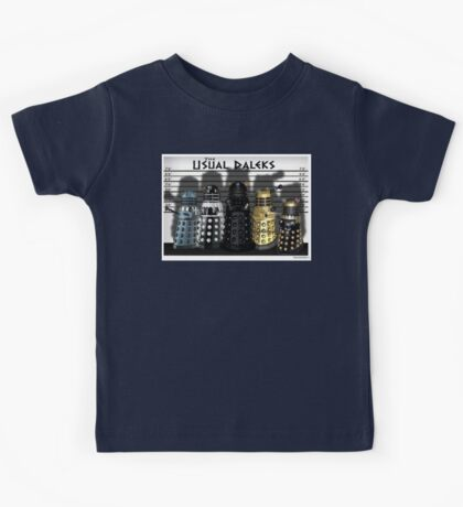The Usual Daleks Kids Clothes