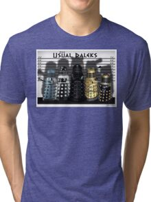 The Usual Daleks Tri-blend T-Shirt