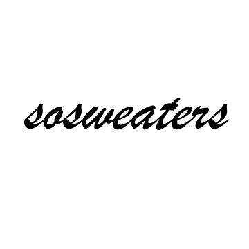 SOSWEATERS N ° 1 by sossweaters