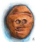 Makapansgat Pebble by Jens Notroff