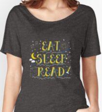 Eat Sleep Read Women's Relaxed Fit T-Shirt