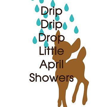 Little Deer April Showers by HarrisonAmy