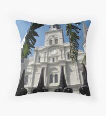 Fleur de Cathedrale (color) Throw Pillow
