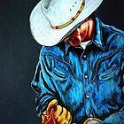 Chisholm...Portrait Of A Cowboy by Susan McKenzie Bergstrom