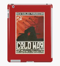 Cold Time War iPad Case/Skin