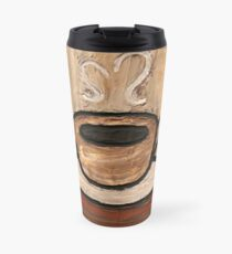 Mixed Media Coffee Cup Travel Mug