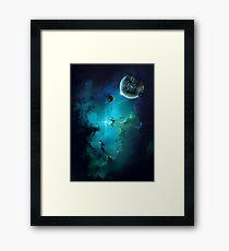 Cybertron nebulae Framed Print