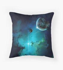 Cybertron nebulae Throw Pillow
