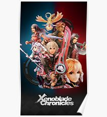 Xenoblade Chronicles - Main Cast Poster