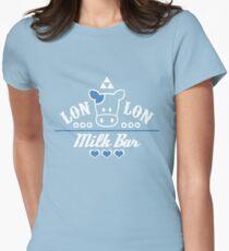 LonLon Milk Bar Womens Fitted T-Shirt