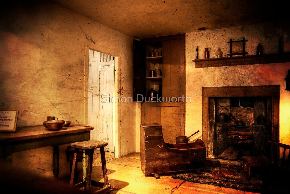 A room of the past by Simon Duckworth