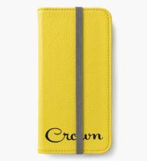 Crown Script iPhone Wallet/Case/Skin