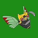 Ninjask by fourfourfour