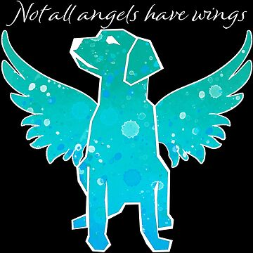 Not All Angels Have Wings (filled in green) by Brianna-Designs
