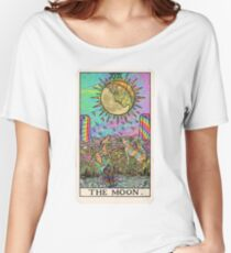 Psychadelic Tarot- The moon Women's Relaxed Fit T-Shirt