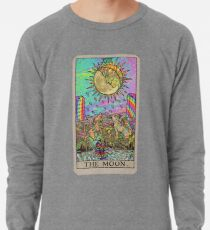 Psychadelic Tarot- The moon Lightweight Sweatshirt