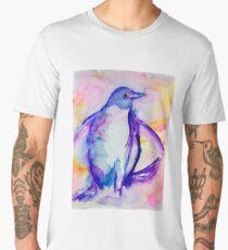 Splashy Penguin Men's Premium T-Shirt