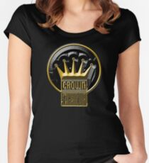 New Style Crown Bevel Women's Fitted Scoop T-Shirt