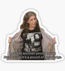 Pound of Knowledge Sticker