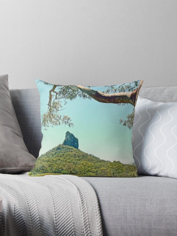 Mt Coonowrin (Crookneck) by Graeme  Hyde