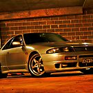 Craved R33 GTST by Sam  Parsons