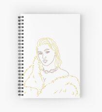 Minimalist Xtina Spiral Notebook