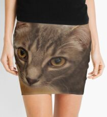 Ozzy the kitten Mini Skirt