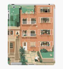 Vinilo o funda para iPad Carteles de viaje - Ventana trasera de Hitchcock - Greenwitch Village New York