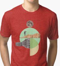 Camiseta de tejido mixto Excursionismo