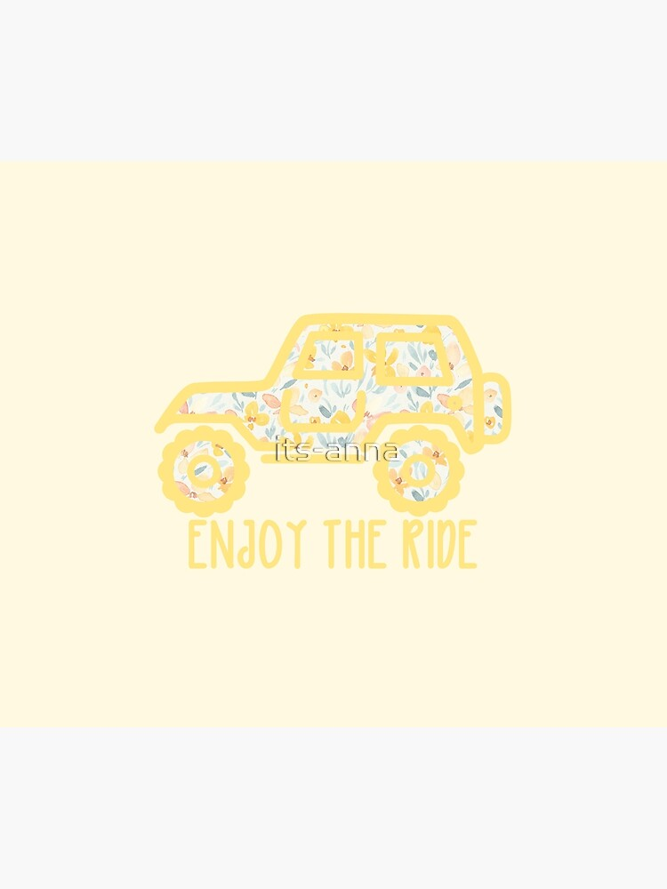 Floral Jeep (yellow) by its-anna