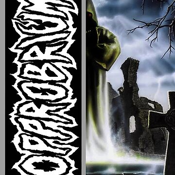 Opprobrium - 'Beyond the Unknown' Color Split Design by opprobriumstore
