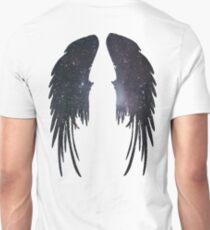 Angel Plain Galaxy Wings T-Shirt
