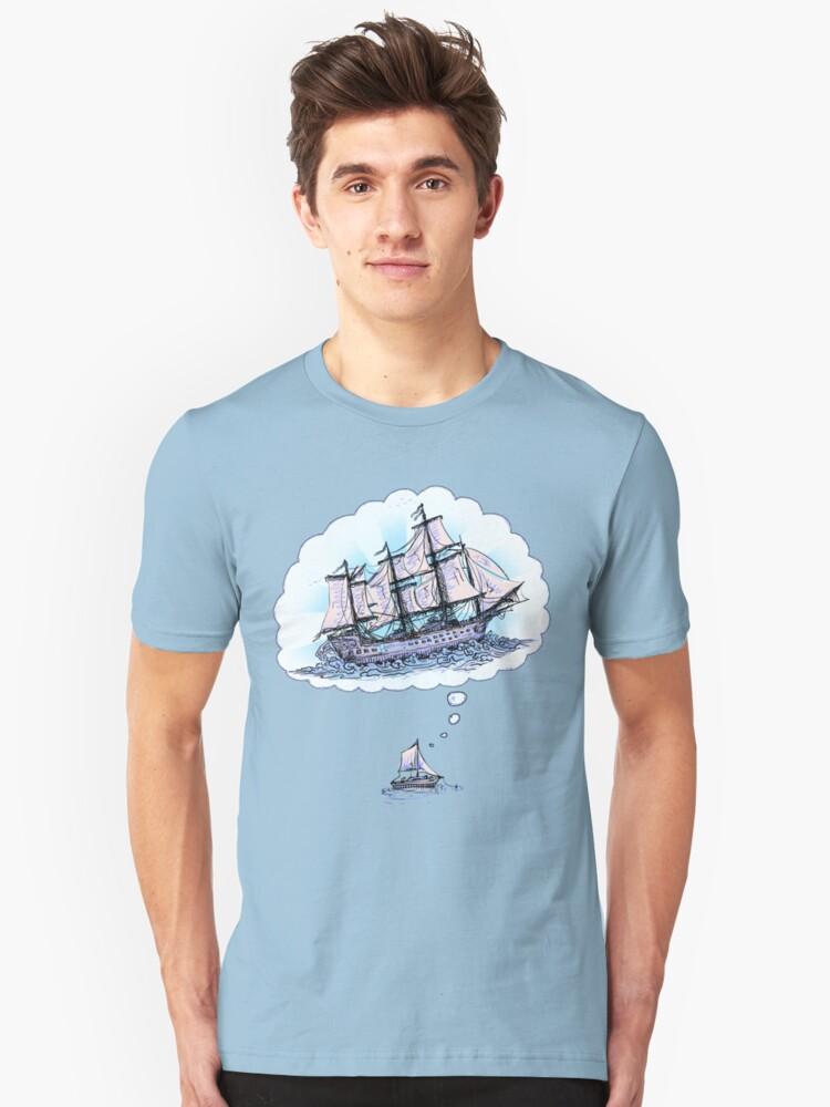 Floating Dreams Unisex T-Shirt Front