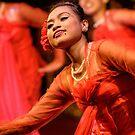 Burmese Dance 1 by Werner Padarin