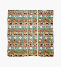 Singing Orange Bird Scarf