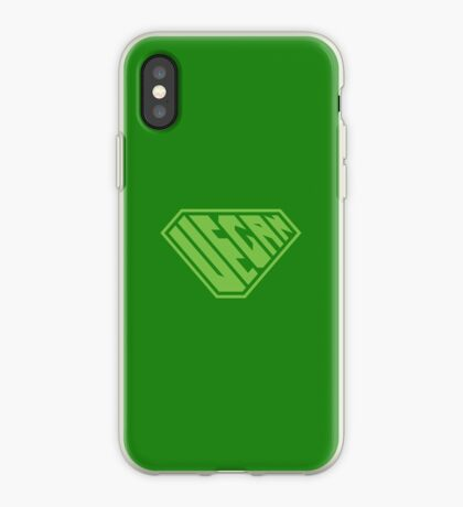 Vegan SuperEmpowered (Green) iPhone Case
