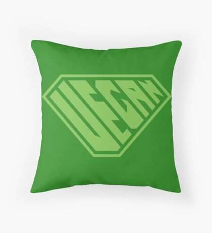 Vegan SuperEmpowered (Green) Floor Pillow