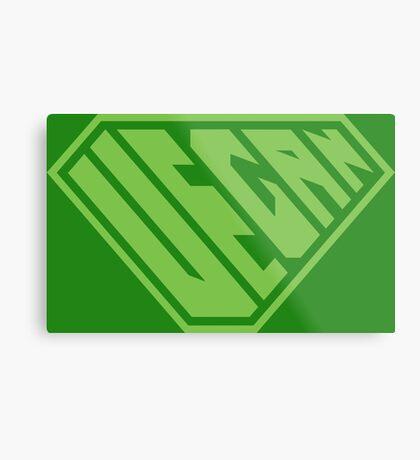 Vegan SuperEmpowered (Green) Metal Print