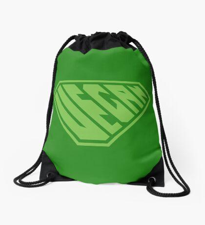 Vegan SuperEmpowered (Green) Drawstring Bag