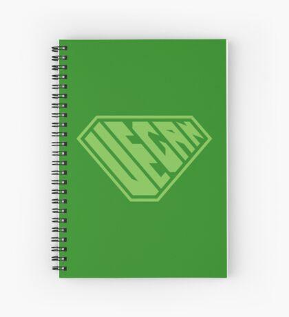 Vegan SuperEmpowered (Green) Spiral Notebook