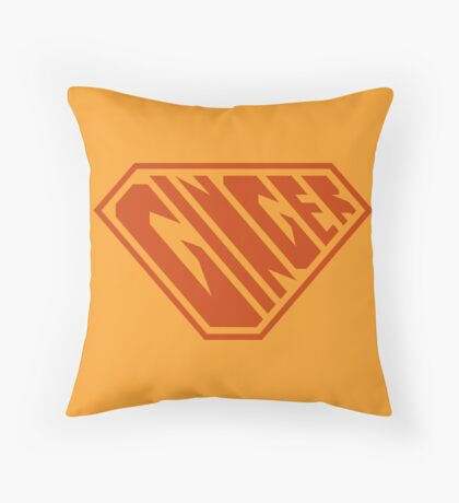 Ginger SuperEmpowered (Ginger) Throw Pillow