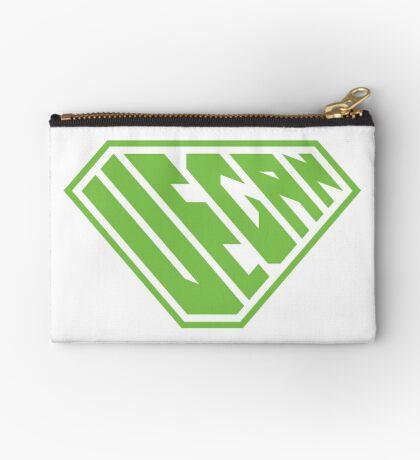 Vegan SuperEmpowered (Green) Zipper Pouch