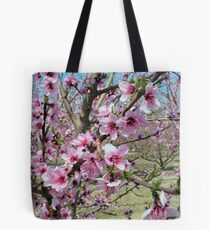 Peach Time Tote Bag