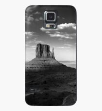 Monument Valley in Black & White  Case/Skin for Samsung Galaxy