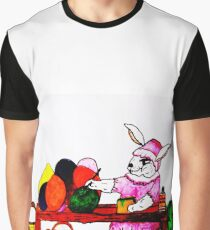 MRS. COTTONTAILS EASTER WORKSHOP  Graphic T-Shirt