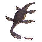 Plesiosaurus dolichodeirus by Sean Closson
