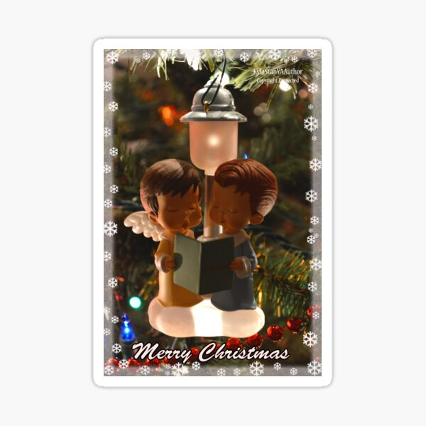 Christmas Angels Sticker